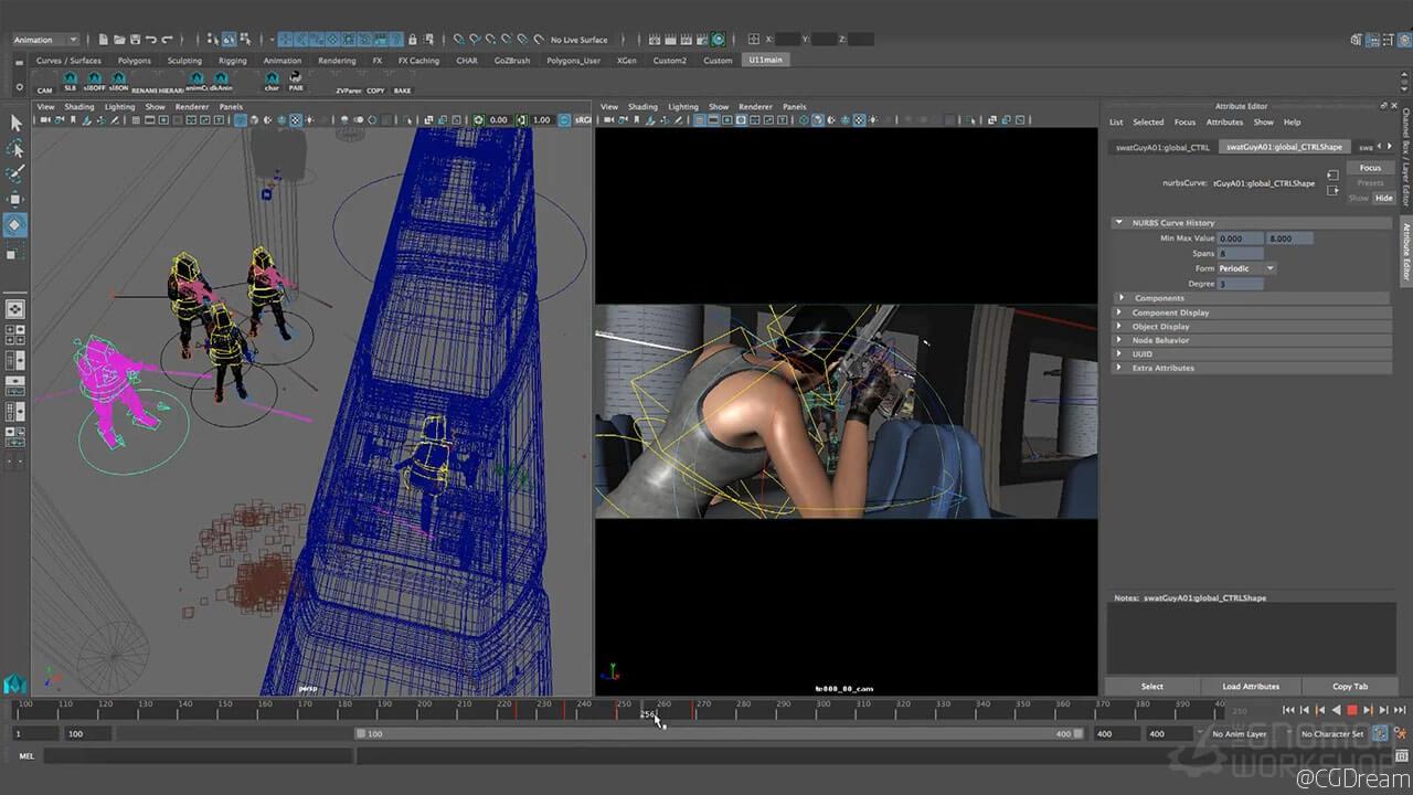 电影可视化预览视频教程 - Pre-Visualization for Film AE教程下载,预览图5