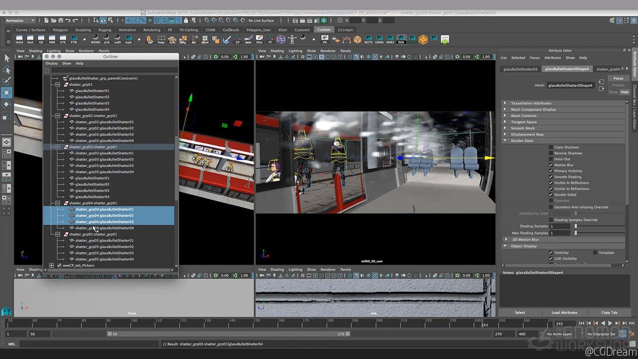 电影可视化预览视频教程 - Pre-Visualization for Film AE教程下载,预览图8