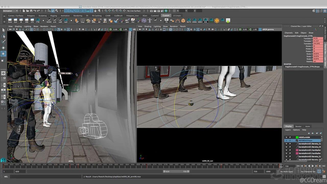 电影可视化预览视频教程 - Pre-Visualization for Film AE教程下载,预览图9