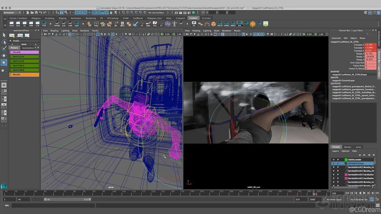 电影可视化预览视频教程 - Pre-Visualization for Film AE教程下载,预览图10