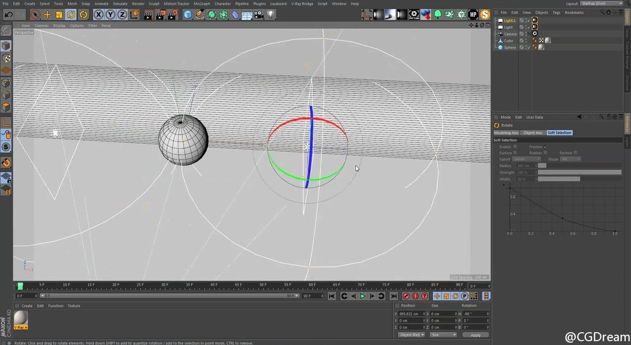 V-Ray渲染视频教程 - Introduction to V-Ray for Cinema4D