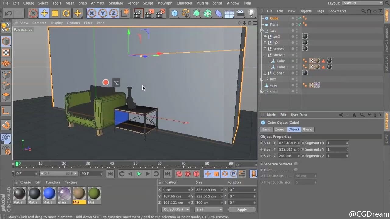 Cinema 4D建模教程 - Introduction to 3D Modeling with Cinema 4D