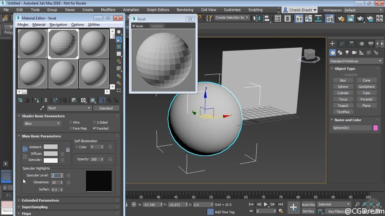 3ds Max 2018材质贴图基础视频教程 - 3ds Max Shading and Texturing Fundamentals