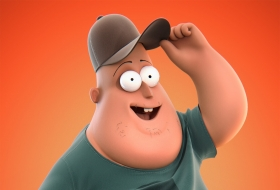 Soos卡通角色人物3D模型,带绑定 - Soos full cartoon character rig MAX
