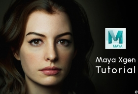 Maya XGen 制作头发毛发教程 - Creating Realistic Hair with Maya XGen