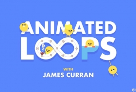 AE制作循环动画教程 - Animated Loops with James Curran