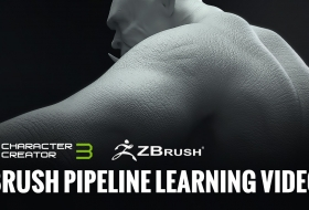 ZBrush人物建模系统流程教程 – Zbrush Pipeline Learning Videos - Reallusion