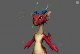 red dragon rig with textures